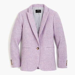 J. Crew Jackets & Coats - J. Crew Parke Wool Blazer Lavender Herringbone